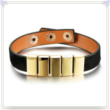 Fashion Jewellery Leather Jewelry Leather Bracelet (LB296)