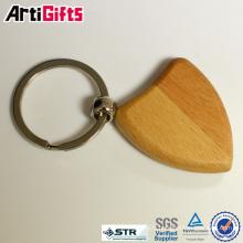 Porte-clés en bois blanc haute performance