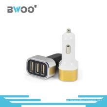 Cargador de coche USB universal de 3 puertos Cargador de teléfono móvil