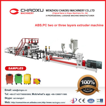 Imported Brand Competitive Price Suitcase ABS Luggage Making Machine