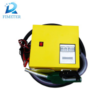Medidor de distribuidor de combustível mini móvel DC mecânica