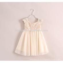Großhandel A Line Kinder Kleidung Sommer Spitze Blumenmädchen Kleid für gemeinsame tragen