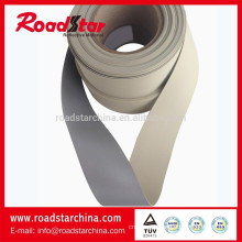 Soft reflective PVC foam leather for shoes leather