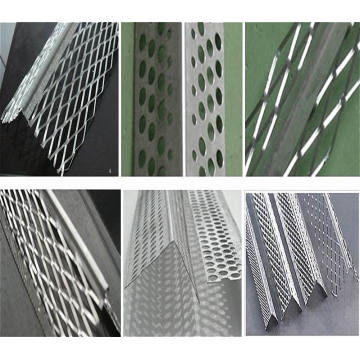 Perla de esquina / Perla de esquina galvanizada / Material de construcción