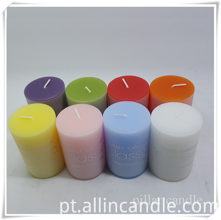 Common Pillar Candle