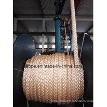 Cordage mixte en PP et en polyester