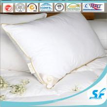 Taie d'oreiller blanche bon marché d'insertion d'oreiller de tissu de coton