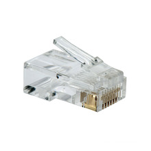 3μ Cat5e / CAT6 Connecteur RJ45 Connecteur 1000PAC / Sac
