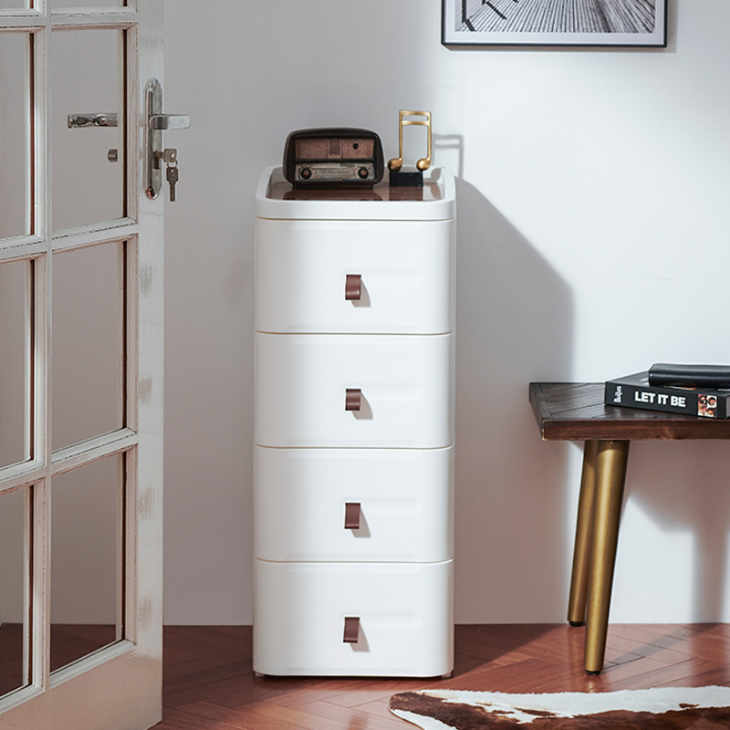 four-tier storage cabinets