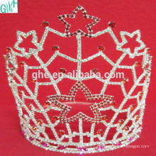 Coroa bonita de cinco estrelas