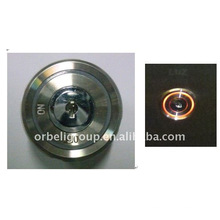 Elevator push button, Key switch