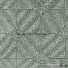 Preço baixo da cor do vinil da cor do preço baixo da fábrica de China enfrentou o preço da placa do teto do PVC