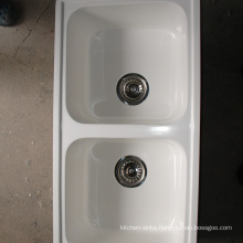 Various design high temperature resistant one & half bowl sink