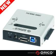 ORICO 2012SUS3-C 2.5 3.5 5.25 SATA para USB 3.0 Disquete rígido eSATA CLONE HDD adaptador 2bay SATA HDD portátil duplicador