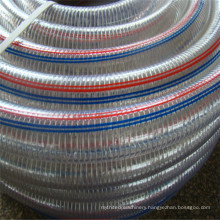 4 Inch Clear PVC Steel Wire Reinforced Suction Hose/Flexible Transparent PVC Steel Suction Hose