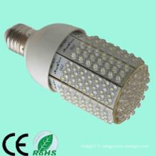 2013 alibaba les plus vendus CE RoHs approuvés e27 100-240v 110v 220v 230v 12-24v 12 / 24v 10w 201leds boîtier moulé en aluminium à ampoule
