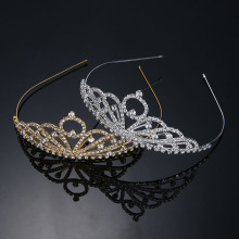 Venta al por mayor Rhinestone Wedding Crown And Tiara