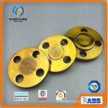 Anisi B16.5 Carbon Steel Blind Flange Forged Flange with TUV (KT0396)