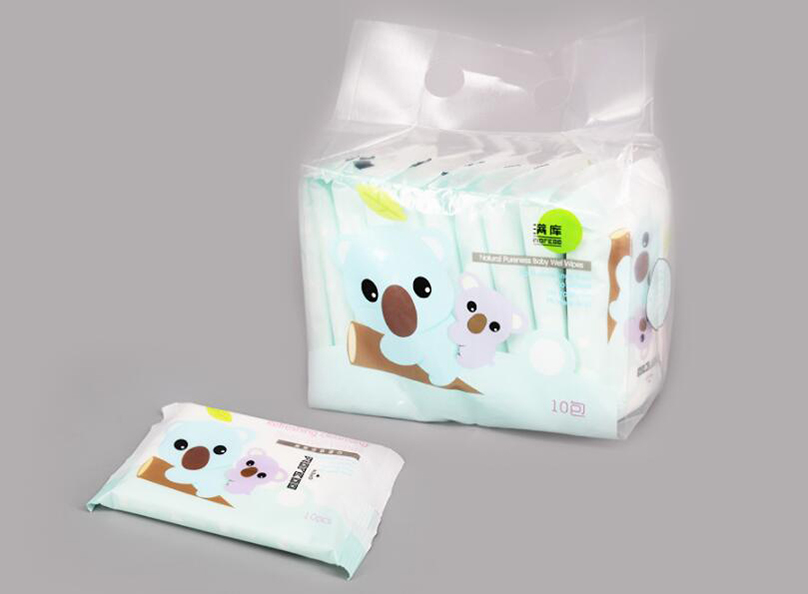 White Clean Wet Wipes Sản phẩm