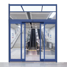 Automaticelectrical sliding panic door operator device for emergency exits