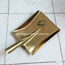 420*240 мм Латунь круглый точка лопата лопатой