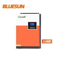 Blunsun best price 3500watt mppt hybrid super solar inverter for residential use