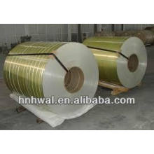 Bobine en aluminium revêtue de couleur PE / PVDF