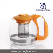 Machine à souffler le pot de thé avec poignée en plastique et couvercle