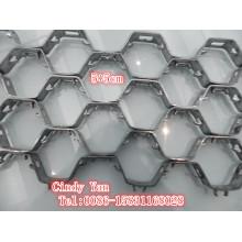 Ss304 нержавеющей стали Ss410 шестигранной панцирь сетка толщиной 2,2 мм/ СС 304 шестигранной чистая Профессиональная Фабрика