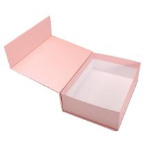Custom logo rigid cardboard flip lid Apparel Boxes Luxury Clothing Packaging Paper Box