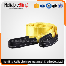 Heavy Duty Polyester off Road Recovery Tow Truck Strap
