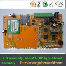 amplificateur audio PCB production layout pcb assembly Moteurs linéaires avec service direct de contrat de disques