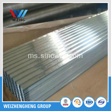GI Lembaran Roofing Galvanized Hot Rolled GI G60