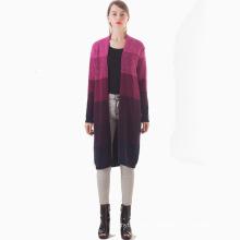 17PKCS136 women winter warm trendy cotton cashmere coat