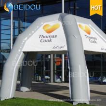 Tente de publicité publicitaire populaire Promotion Tente d'araignée gonflable