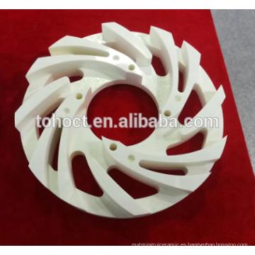 Zirconia de cerámica de alta precisión con rosca de cojinete de anillo roscado