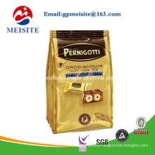 Resealed 8 Sode Seal Ziplock Aluminum Biscuit Packaging Bag