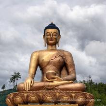 Estátua de Buda de bronze indiano de fundição de alta qualidade para venda