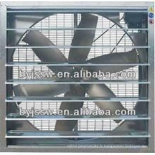 Poulrty ou ventilateur de ferme au mur de serre