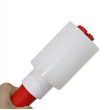 Factory wholesale  color stretch film pe pvc stretch film wrap  rolls Mini Hand roller stretch film