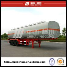 LNG réservoir remorque, semi-remorque-citerne liquide pour le transport de liquides chimiques