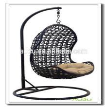 Audu Patio Rattan Swing Hanging Egg Chair                                                                         Quality Choice