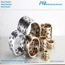 fibro standard guide sleeve bushing,cast oilless bronze bush,mould component c86300 bearing