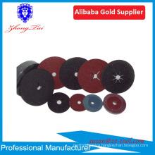 aluminum oxide abrasive fiber disc