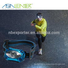 BT-4889 XPE 3W LED USB cabeza de bicicleta de luz