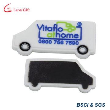 Горячие продажи акции подарок автомобиль формы ПВХ Холодильник магнит (LM1779)