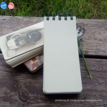 Mini Notebooks Espirais Quadrados Eco-Friendly
