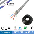 Fabricantes de cable sólido de cat5e de SIPUO profesionales sftp 4p