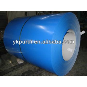 Bobina de aço PR-color ou chapas de aço para coberturas ou chapas de aço coloridas