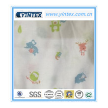 Suave tela de algodón 100% para bebé